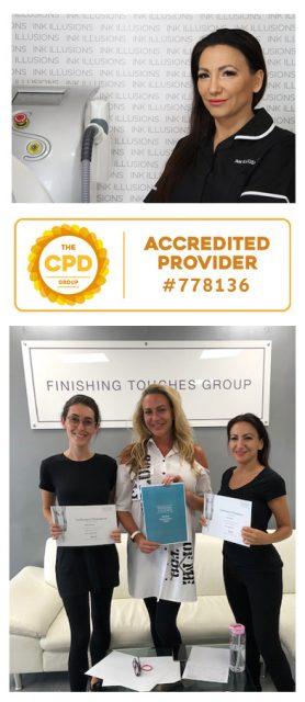 zena bratcher finishing touches accredited training