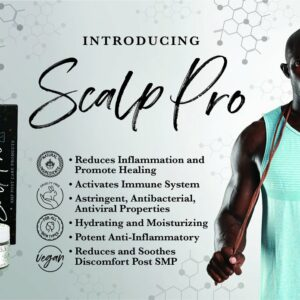 SMP scalp micropigmentation aftercare product