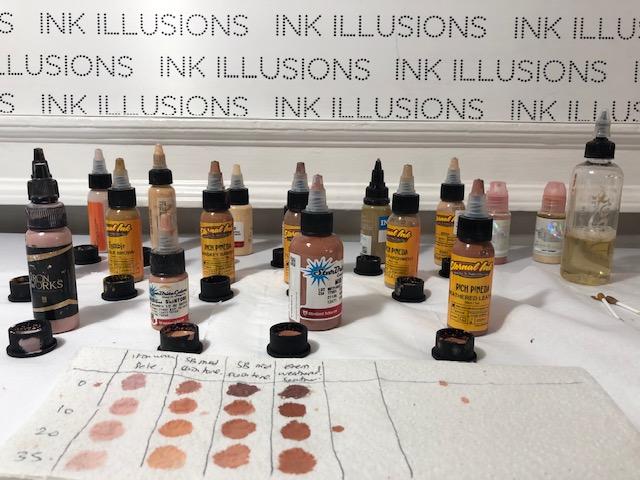 skin tone tattoo colour ink UK